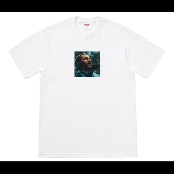 63ead9d7763b Supreme Shirts | Marvin Gaye Tee Short Sleeve Graphic Shirt | Poshmark